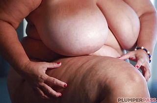 BBW Milf Plowed By a Stud