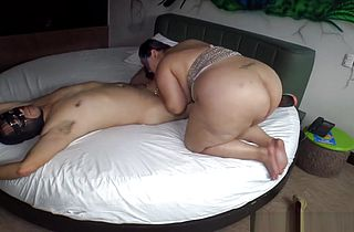 BBW Latina gets fucked with a stranger