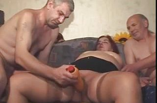BBW mature slut toyed and fucked well